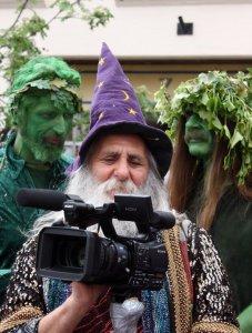 Viziondanz and the Green Men