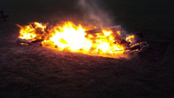 No ordinary fire!