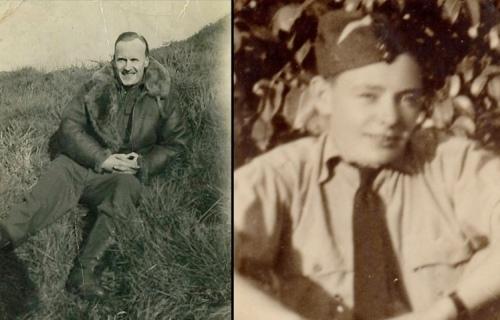 No. 617 Squadron Lancaster III ED865 P:O. Leonard George Weller and Sgt. Thomas Jaye